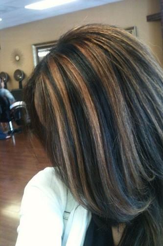 carmel-highlights-brown-hair