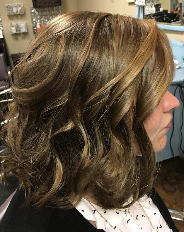 balayage-highlights-wanded-curls-bella-capelli-salon-durham-nc