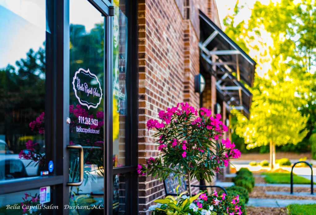 bella-capelli-salon-durham-nc-outside
